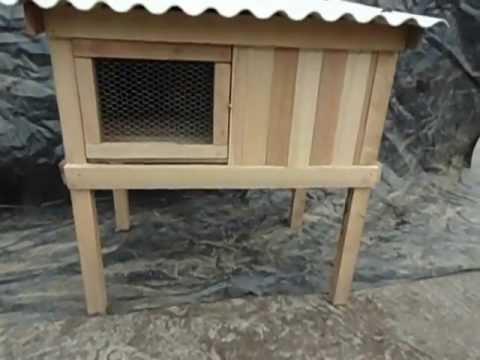 Jaulas ayenla 002 para cuyes conejos pollos gallos gallinas youtube - Casas para gallinas ...