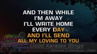 All My Loving - The Beatles (Lyrics Karaoke) [ goodkaraokesongs.com ]