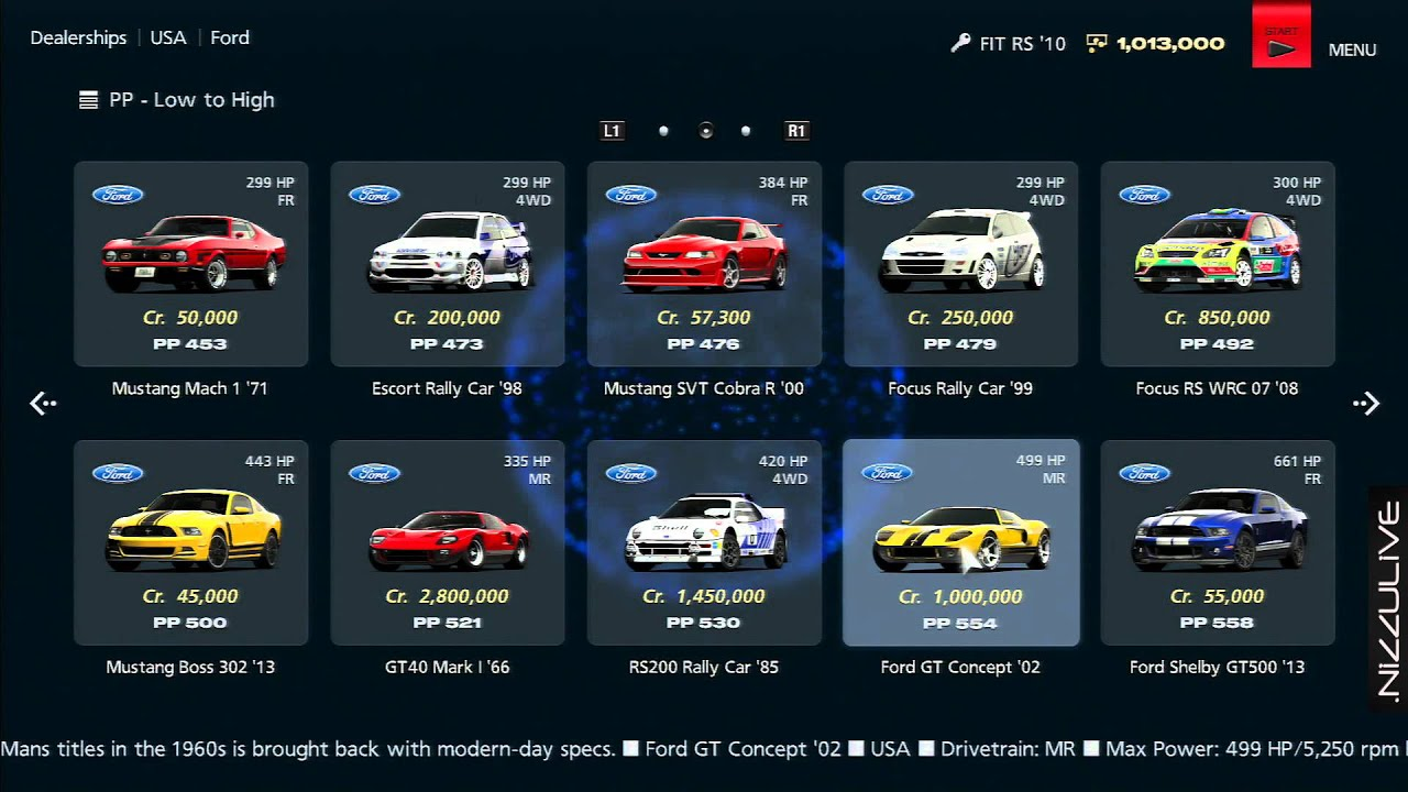 sc 1 st  YouTube & Gran Turismo 6 ALL CARS w/ Stats North America - YouTube markmcfarlin.com