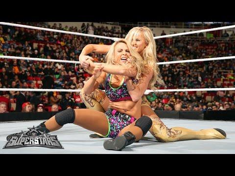 Emma vs. Summer Rae: WWE Superstars, December 18, 2014