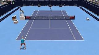 Full Ace Tennis Simulator - Alexander Zverev vs Novak Djokovic - PC Gameplay