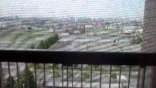 済生会宇都宮病院からの眺め