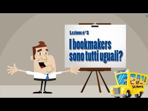3 Lezione: I bookmakers, sono tutti uguali?