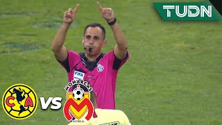 ¡Gol anulado a Monarcas! Aparece el VAR | América 2 - 0 Morelia | Liga Mx - AP 19  Semifinal | TUDN