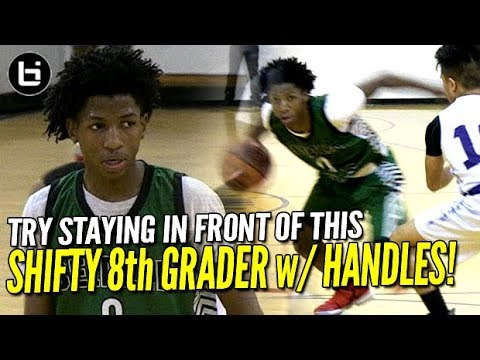 Try Staying in front of 8th Grader Leonte Lilly! Chicago PG Has Handles!
