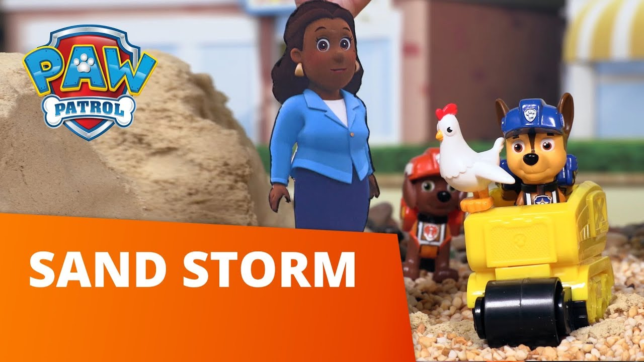 PAW Patrol | Sand Storm | Toy Episode