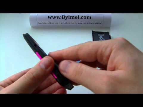 Nokia 5310 Xpress Music RM-303 Unlock & input / enter code.AVI