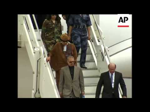 Libyan President Gadhafi makes 4th visit in a year to Rome