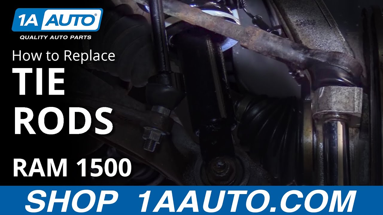 hight resolution of how to replace tie rods 06 12 dodge ram 1500