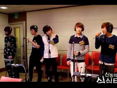 121029 100% - Bad Boy (live) @ Shindong's SimSimTapa