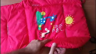 Aliexpress Unpacking - Baby Stroller Cushion Soft Cotton Thick Pad