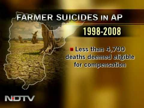 Andhra Pradesh govt overlooks farmer suicides