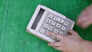 Как сделать механический калькулятор