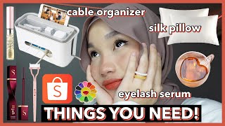 In this vid, I shared things that I think everyone should have from Shopee that are not only affordable but extremely useful as well (ノ◕ヮ◕)ノ*:・゚✧ ✰ LET'S BE ...