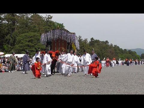 京都 葵祭 2017年 京都御苑編 Aoi Matsuri (Kyoto Gyoen's edition)
