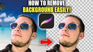 How to Remove a Backġround From an Image With Procreate on iPad