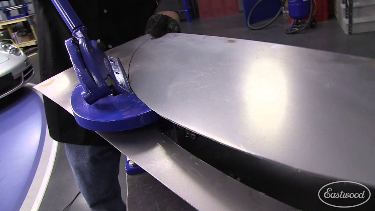 How To Cut Sheet Metal Economy Throatless Shear For Your