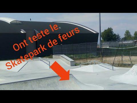 Ont Teste Le Skatepark De Feurs Youtube
