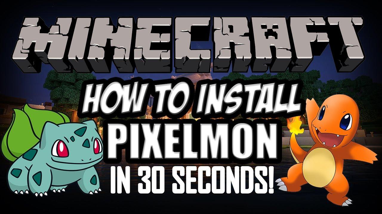 how to install pixelmon 3.0.2 mac