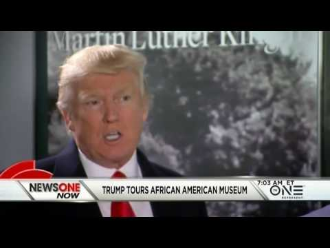 Trump Tours The National Museum Of African American History And Culture