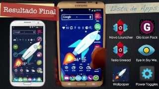 [Tutorial] Personalización Extrema Android ⎪Nova Launcher