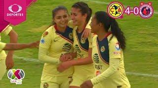 Resumen | América 4 - 0 Veracruz | Liga MX Femenil - J16 | Televisa Deportes