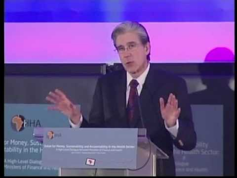 Dr. Julio Frenk, Dean, Harvard School of Public Health @ HHA Ministerial Conference, Tunis