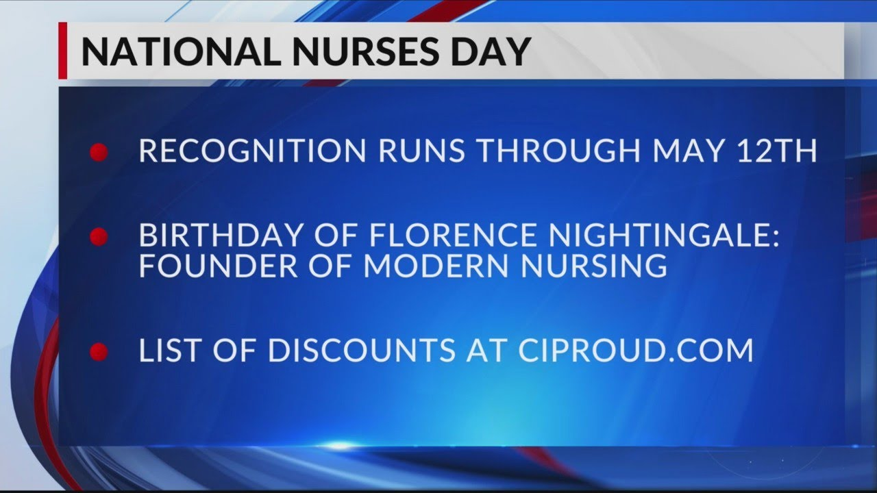 National Nurses Day: Companies celebrate with free stuff, discounts