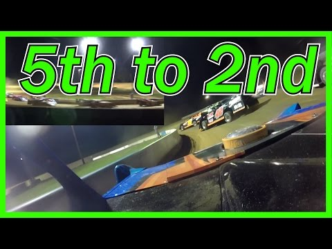 Clinton County Motor Speedway Feature 5/12 [IN CAR]