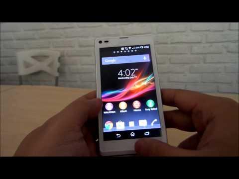 Antar Muka Sony Xperia L