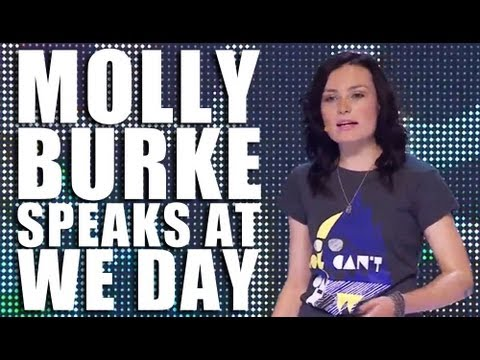 Molly Burke at We Day: United We Are One Voice