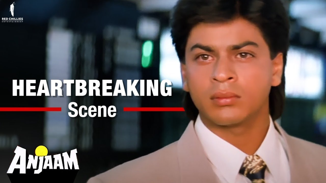 Download Madhuri Dixit breaks SRK's heart   Movie Scene   Anjaam