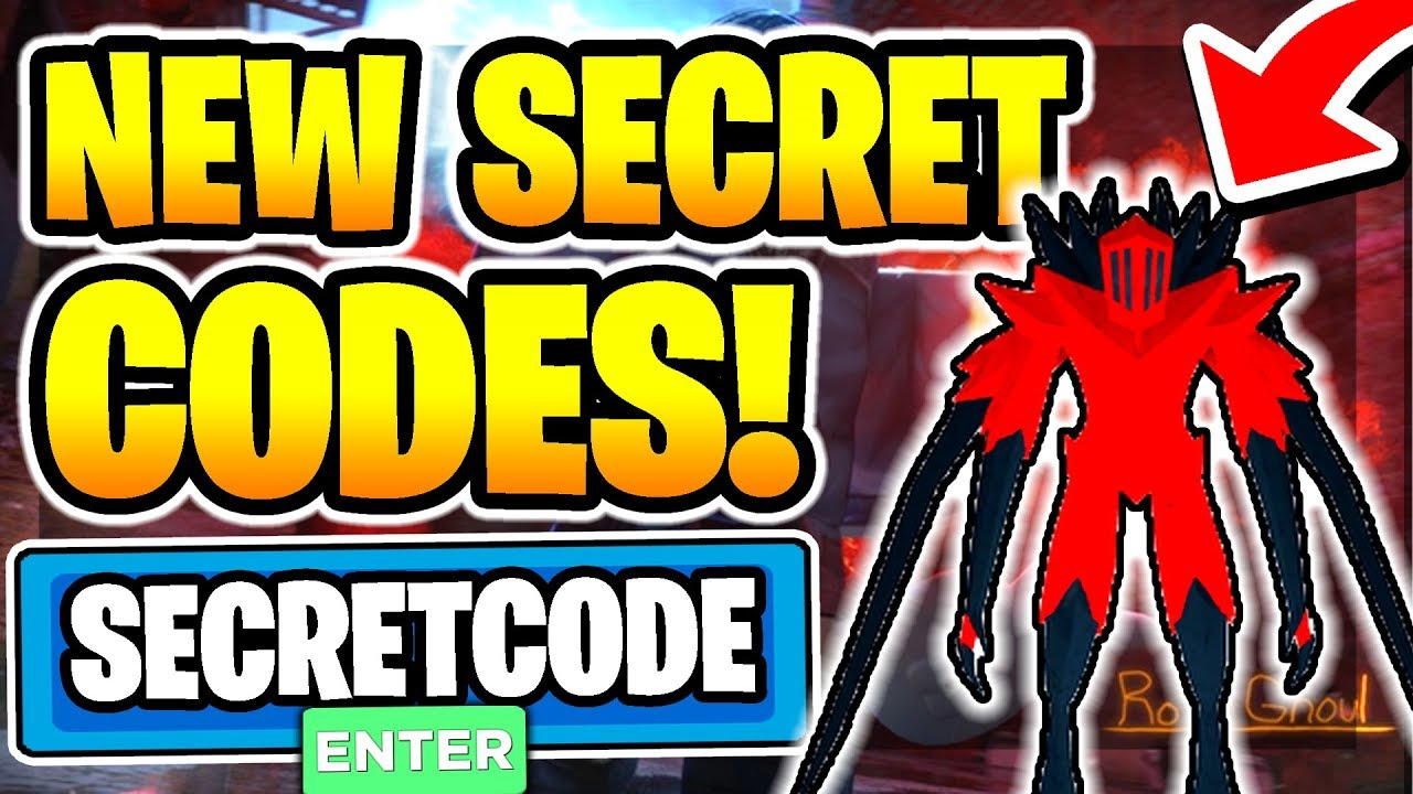 All New Secret Working Codes In Ro Ghoul 2020 Roblox Youtube