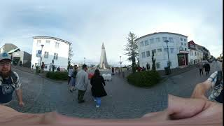 Walking in Reykjavik Hyperlapse (Samsung Gear 360)