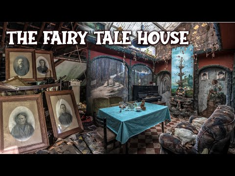 The Magical FAIRY TALE House in Belgium   A Forgotten Legacy of two Belgian Artists (LEFT ABANDONED)