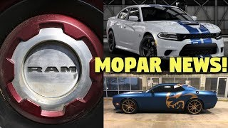 Bringing you some Mopar News for October 2018! There are new colors...
