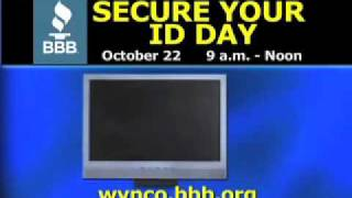 BBB Secure Your ID Day