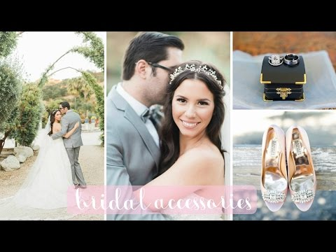My Bridal Accessories: Veil, Dress, Shoes, Jewelry, Headpiece   Hayley Paige