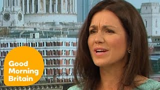 Piers and Susanna Clash Over Jennifer Aniston And Body Shaming | Good Morning Britain