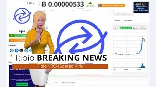 Cryptocurrency Ripio $RCN Surges 41% In the Past Day