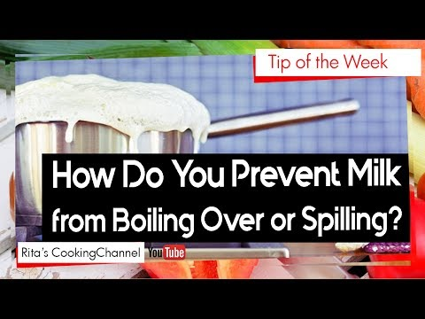 Cooking/Kitchen Hacks | How Do You Prevent Milk from Boiling Over or Spilling? | Tip of the Week
