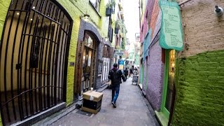 London. A Walk from Neal's Yard to Covent Garden and Holborn
