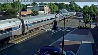 Amtrak vs. Car @Ashland, VA.
