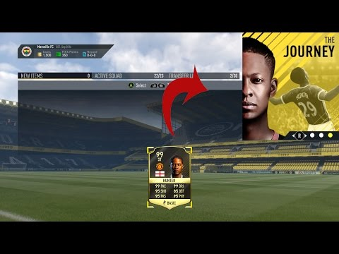 How to Get a 99 Rated Alex Hunter in THE JOURNEY?? (Fifa 17 The Journey Cheat)