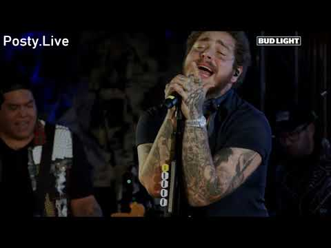 Post Malone - Better Now (Live Bud Light Tour)