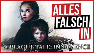 Alles falsch in A Plague Tale: Innocence 🛎️ GameSünden [SATIRE]