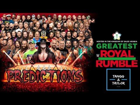 Tangg&Taylor Podcast: Greatest Royal Rumble Predictions