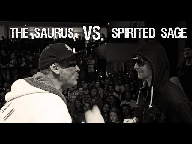 Rap Slam Battles @ Blast! - The Saurus vs. Spirited Sage