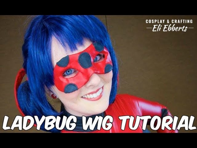 ☆[Tutorial] How to Style a Miraculous Ladybug Wig☆
