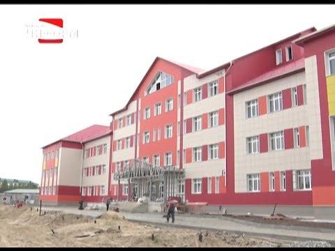 В Пыть-Яхе строится новая школа-сад на 550 мест